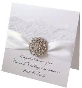60th wedding anniversary card cards for inspiration weddin