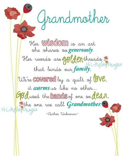 Birthday Quotes For Grandparents Grandmothers Grandmother Poem And Poem On Pinterest