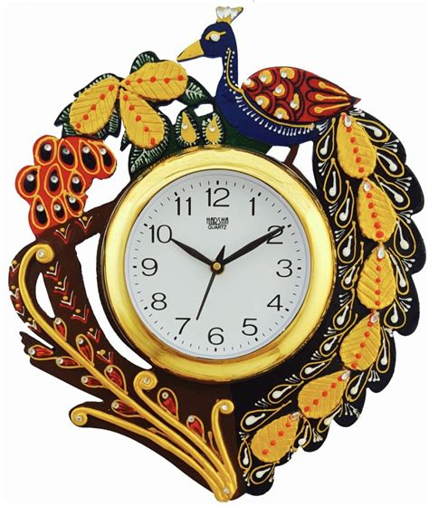 analog wall clock price divinecrafts analog wall clock price in india buy
