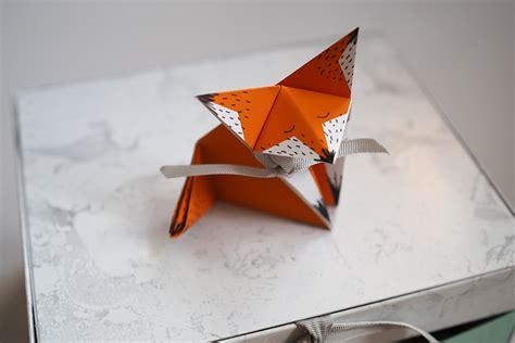 En Origami - le faire part en origami minireyve