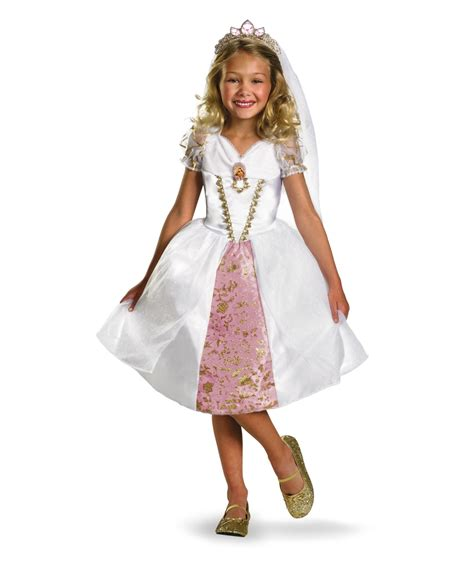 Wedding Dress Costume by Disney Tangled Rapunzel Wedding Gown Costume
