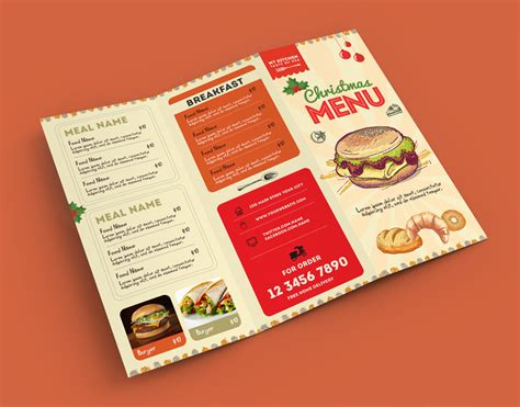 Menu Brochure Template Free by 50 Free Psd Restaurant Flyer Menu Templates