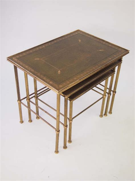 brass tables for sale vintage nest of brass tables for sale