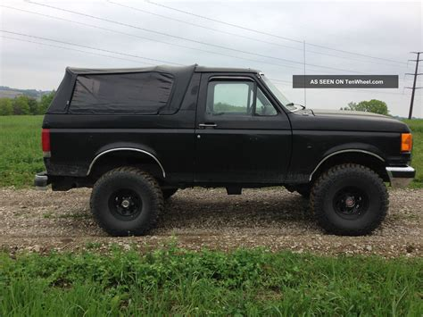 1989 ford bronco 1989 ford bronco ii automatic transmission