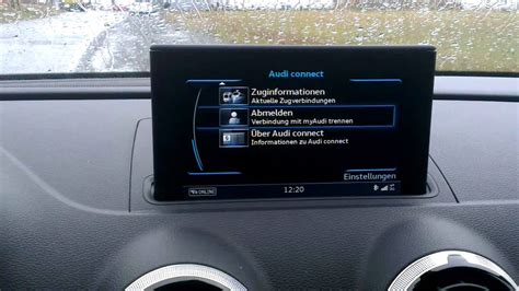 Audi Connect Nachr Sten by Audi A3 Sportback Mmi Navigation Plus Mit Mmi Touch