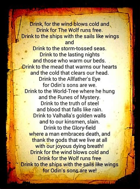 norse prayer 17 best images about viking prayers words phrases on