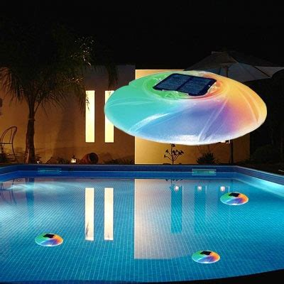 Floating Pool Lights Create A Unique Lighting Experience Floating Solar Swimming Pool Lights