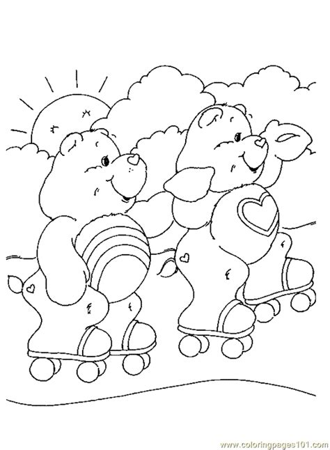 care bear coloring pages pdf coloring pages carebears 26 cartoons gt care bears free