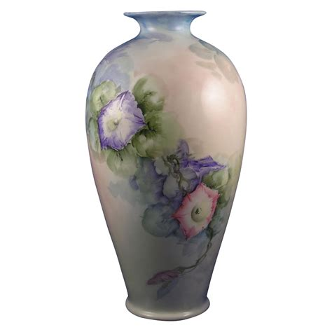 large lenox belleek morning motif vase c 1906 1924