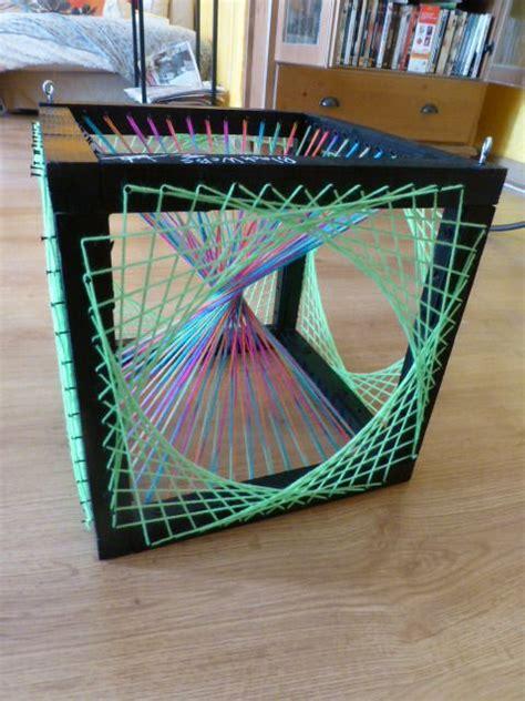 String 3d - string uv artisanal fils tendus cubes string