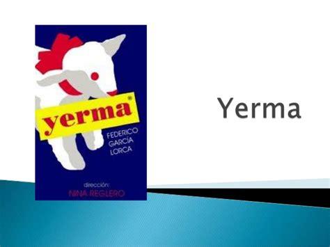libro yerma yerma obra de federico garcia lorca