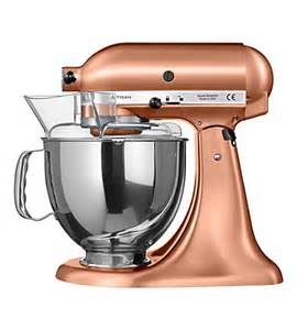 rose gold kitchen appliances kitchenaid artisan mixer selfridges com