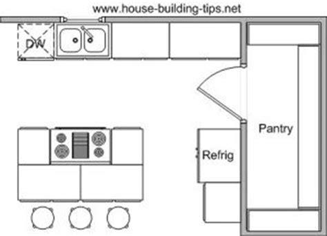 kitchen floor plans with walk in pantry 25 best ideas about kitchen floor plans on pinterest