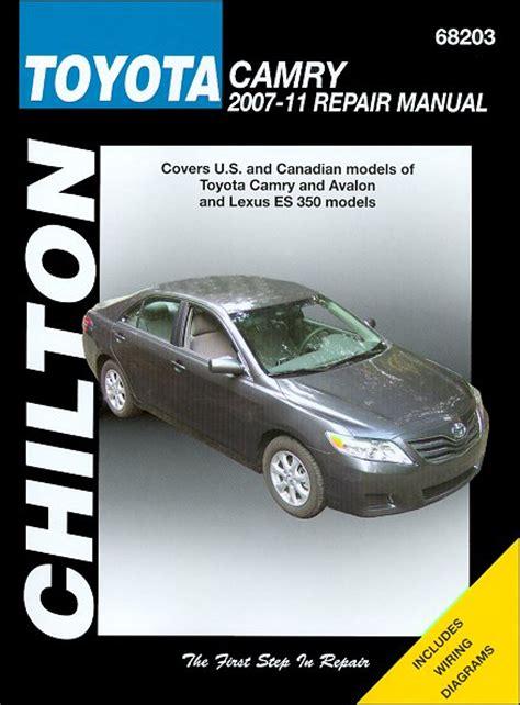 transmission control 2007 toyota avalon free book repair manuals toyota camry avalon lexus es350 repair manual 2007 2011 chilton
