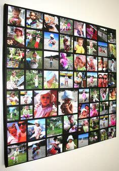 Foto Mozaik Birthday Anniversary Graduation Gift 1 bender photo collage i used a 4 x 6 canvas with 12 quot x