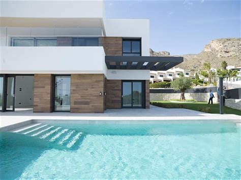 brand new designer villas built to order costa blanca spain brand new luxury villa in benidorm costa blanca
