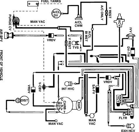 motorcraft 2100 vacuum diagram wiring diagrams wiring