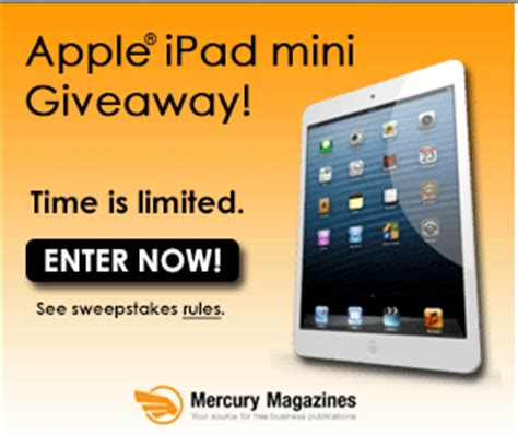 Free Apple Ipads Giveaway - free ipad mini giveaway i crave freebies