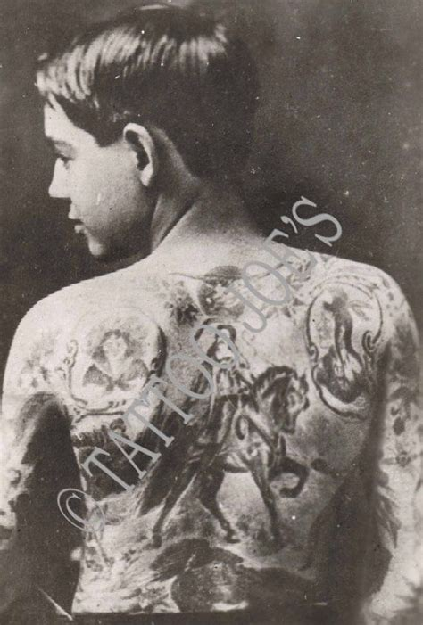 charlie wagner tattoo andy sturtz around 1900 tattooed by wagner