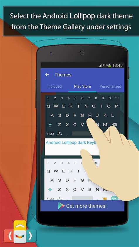 lollipop keyboard themes xda aitype lollipop keyboard theme android apps on google play