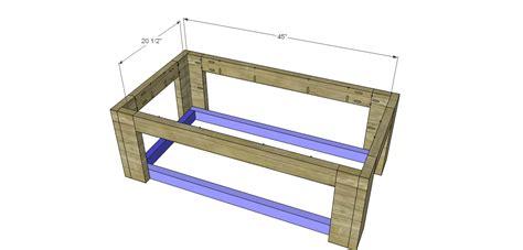 sam s coffee table build sam s rustic coffee table