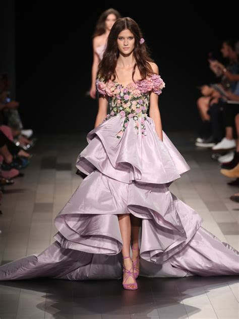 Ny Fashion Week by The Best Gowns From New York Fashion Week 2018