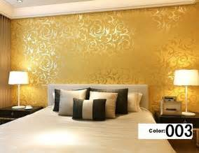 modern 3d background vinyl wallpaper for living room gold