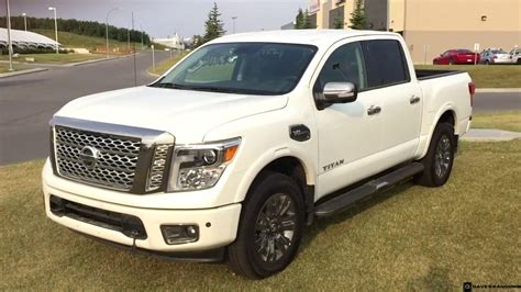 white nissan 2017 2017 nissan titan platinum reserve crew cab in pearl white