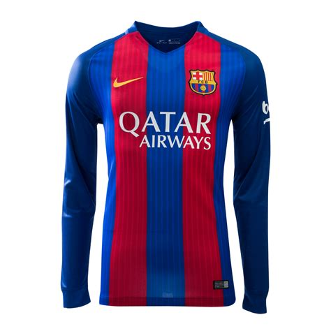 Barca Home Jersey 2016 2017 fc barcelona home jersey 2016 17 with qatar airway sponsor