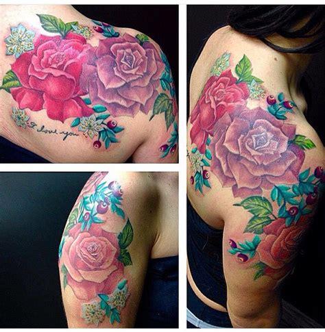 flower tattoo edmonton 49 best rose tattoos images on pinterest tattoo ideas