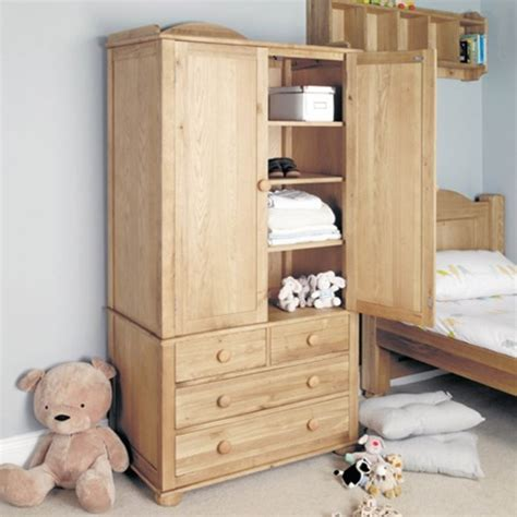 baumhaus amelie oak childrens wardrobe review