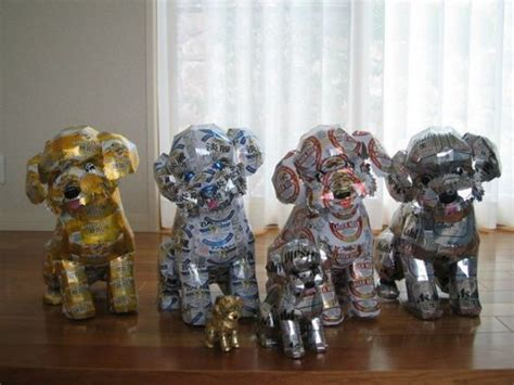 Recycled Home Decor Projects by How To Recycle Cool Recycled Soda Can Art