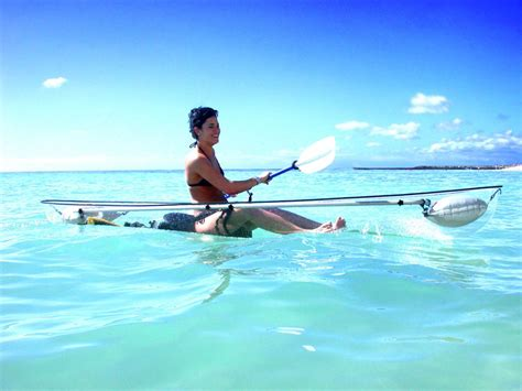 clear kayak picture of the day the transparent kayak 171 twistedsifter