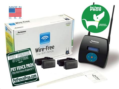 wireless fence perimeter 174 wifi wireless fence 2 dogs 2 5 acres ebay