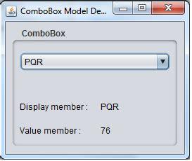 java swing jcombobox jcombobox jtable
