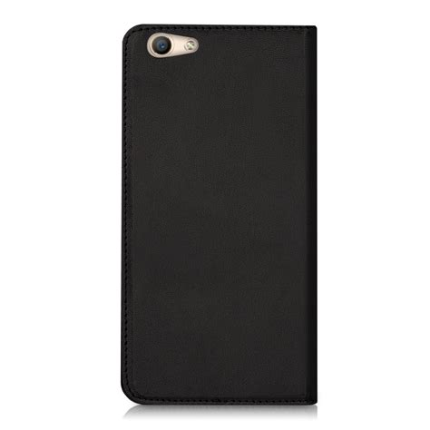 Flip Cover Oppo F1s Auto Lock flip cover for oppo f1s black leather slim back shell mobile phone ebay