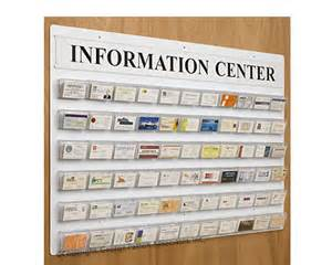 business card board new information center business card displays by