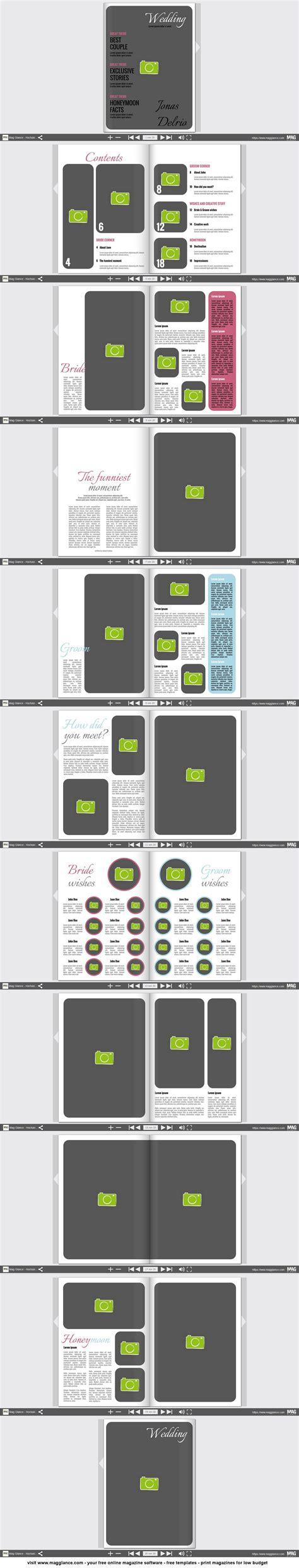 Design Hochzeitszeitung Vorlage hochzeitszeitung kostenlos erstellen und g 252 nstig drucken unter papierkramm