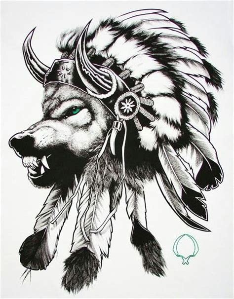 indian wolf tattoo designs american wolf headdress future tattoos