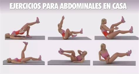 ejercicios para abdomen en casa abdomen para realizar en casa lesbos