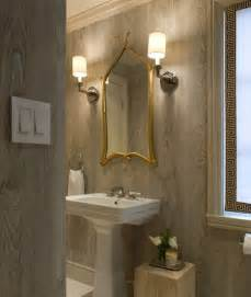 wallpaper for bathroom walls what you didn t about faux textured wallpaper