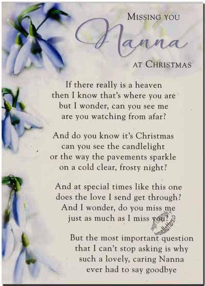 missing nana  christmas time   family quotes heaven  memory christmas christmas
