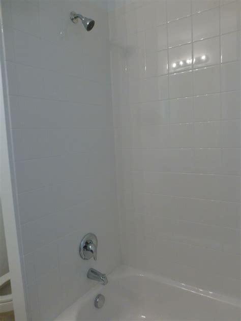 6x6 bathroom 6x6 white bath wall tile standard in all baths serenoa