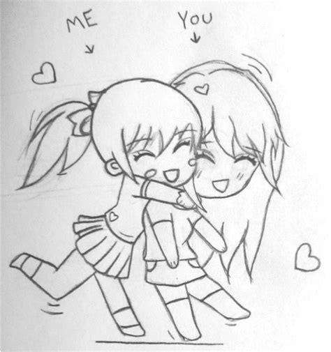 Drawing W Friends best friends sketch by emi ii on deviantart