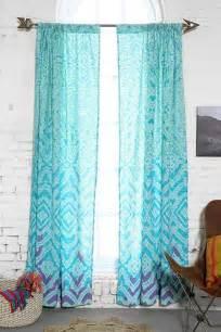 Tie Dye Sheer Curtains Plum Bow Tie Dye Curtain
