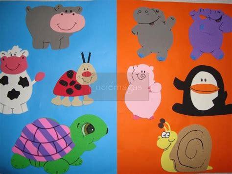 imagenes de animales infantiles en goma eva animales de goma eva infantiles imagui