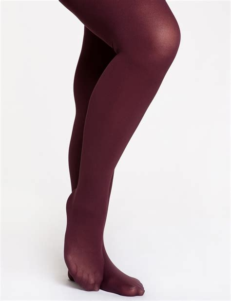 opaque colored tights colored opaque tights in burgundy fall winter dreams