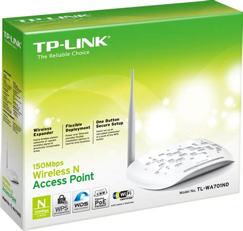 Tp Link Access Point Tl Wa701nd tp link tl wa701nd 150mbps wireless n access point tp