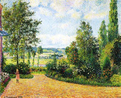 toile de jardin file pissarro jardin mirbeau aux ds jpg wikimedia commons