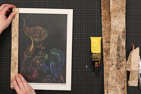 Collage Bilderrahmen Selber Machen by Einfach Und Schnell Bilderrahmen Selber Machen
